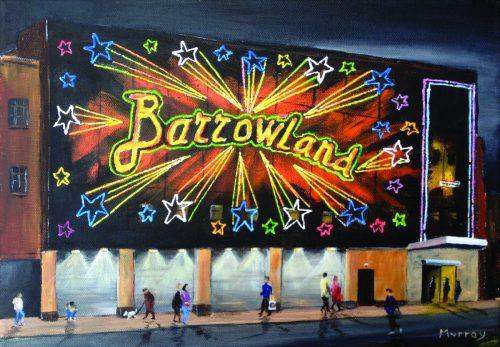 Glasgow Barrowlands Ballroom by landscape artist Stephen Murray